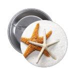 Botón de las estrellas de mar pins