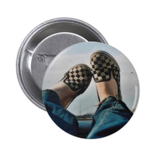 Botón de las furgonetas del tablero de damas