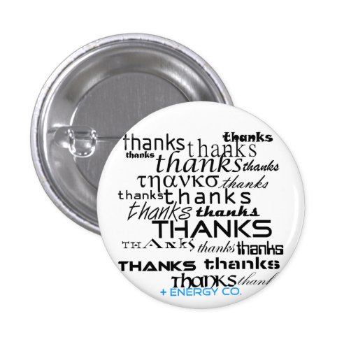 Botón de las gracias pequeño