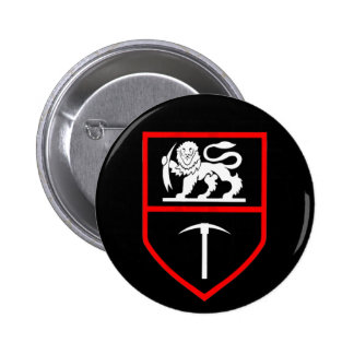 Botón de las insignias del ejército de Rhodesian Pin Redondo De 2 Pulgadas