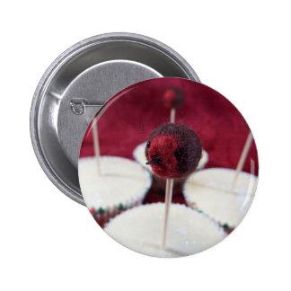 Botón de las magdalenas del petirrojo pin redondo de 2 pulgadas