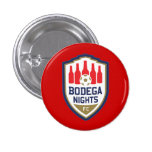 Botón de las noches del Bodega Pin Redondo De 1 Pulgada