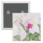 Botón de las orquídeas pin