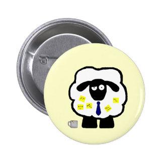 Botón de las ovejas de la oficina pins