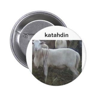 Botón de las ovejas del pelo de Katahin círculo o Pins
