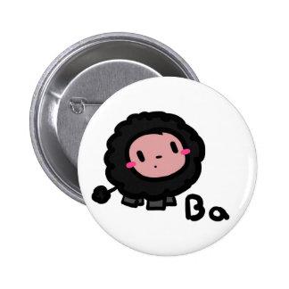 Botón de las ovejas negras de los vagos de los vag pins