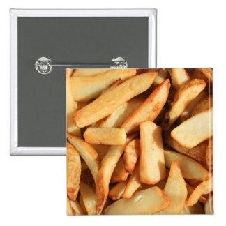 Botón de las patatas fritas pins
