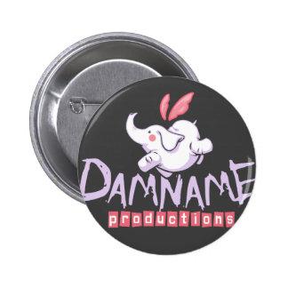 Botón de las producciones de Damname Pin