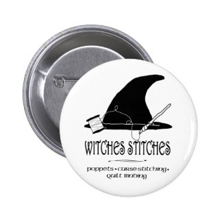 Botón de las puntadas de las brujas