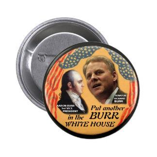 Botón de las REBABAS 2012 Pin Redondo De 2 Pulgadas