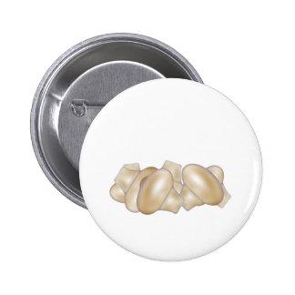 Botón de las setas pin redondo de 2 pulgadas