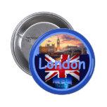 Botón de LONDRES Pin