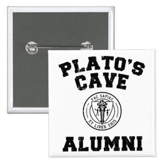 Botón de los alumnos de la cueva de Platón Pin