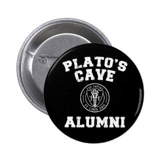 Botón de los alumnos de la cueva de Platón Pins