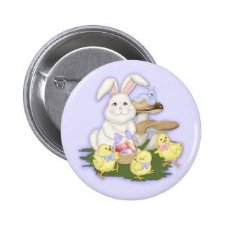 Botón de los amigos de Pascua Pin