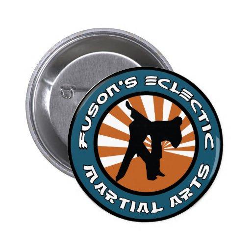 Botón de los artes marciales de Fuson