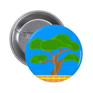 Botón de los bonsais pin