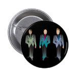 Botón de los caballeros solamente chapa redonda 5 cm