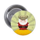 botón de los chirstmas pin