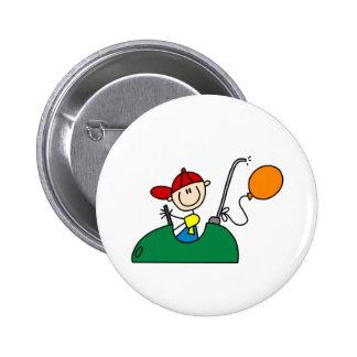 Botón de los coches de parachoques pin redondo de 2 pulgadas