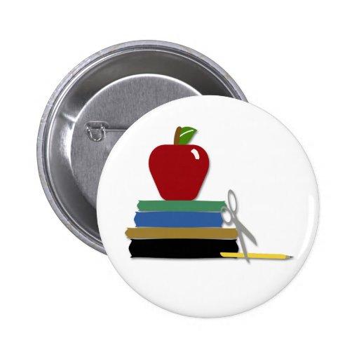 Botón de los días escolares pins