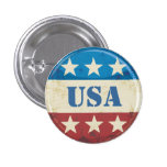 Botón de los E.E.U.U. del vintage Pin