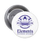 Botón de los elementos pins