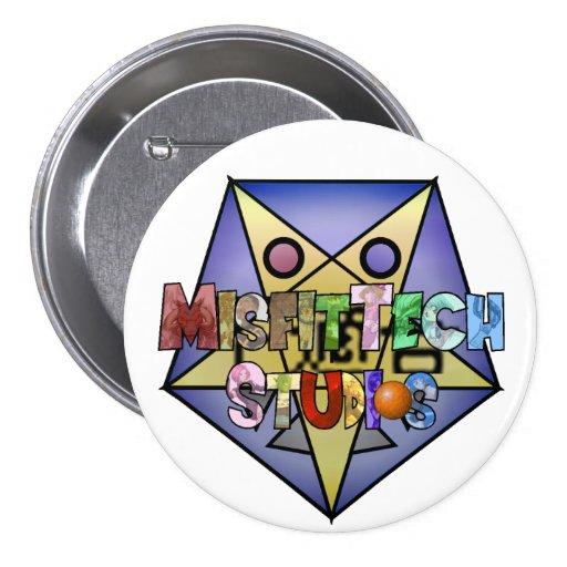 Botón de los estudios de MisfitTech Pins