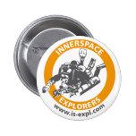 Botón de los exploradores de InnerSpace Pins