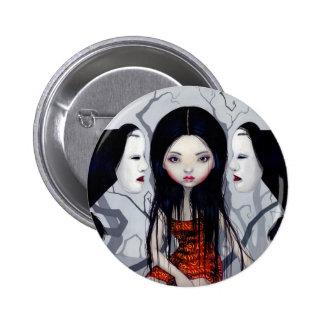 """Botón de los """"fantasmas anónimos"""" pin redondo de 2 pulgadas"""