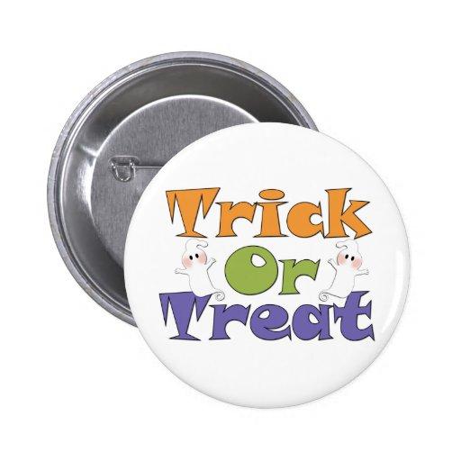 Botón de los fantasmas del truco o de la pin redondo de 2 pulgadas