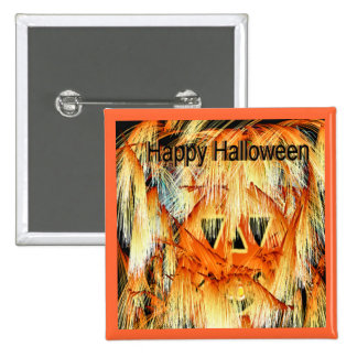 Botón de los fuegos artificiales de Halloween Pins