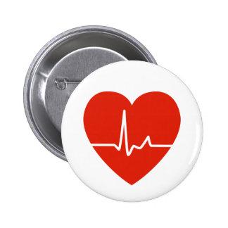 Botón de los golpes de corazón