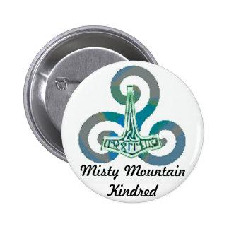 Botón de los Kindred de la montaña brumosa Pin