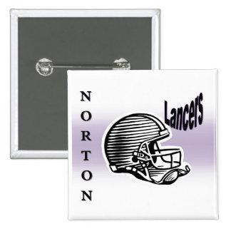 Botón de los lanceros de Norton Pin
