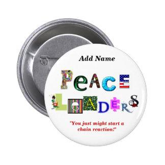 Botón de los líderes de la paz pins