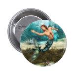Botón de los Mermen Pin