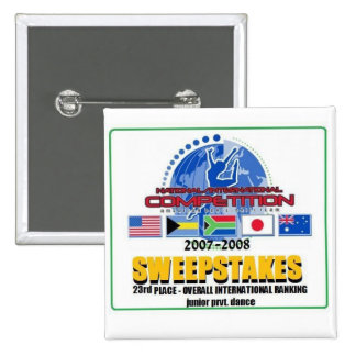 Botón de los nacionales 2008 pin