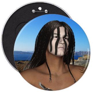 Botón de los nativos americanos pins