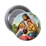 Botón de los niños de amores de Jesús Pin