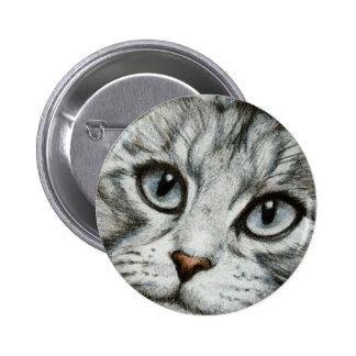 Botón de los ojos de gatos