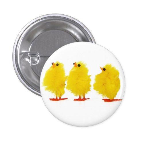 Botón de los polluelos del bebé de Pascua Pins