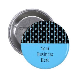Botón de los puntos y de las rayas de PICK-A-COLOR Pins