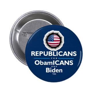 Botón de los republicanos de ObamICANS Pin