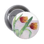 Botón de los tulipanes pin
