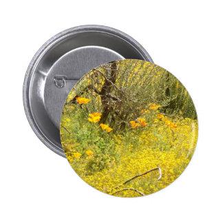 Botón de los Wildflowers de la amapola Pins