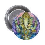 Botón de Lotus Ganesha Pins