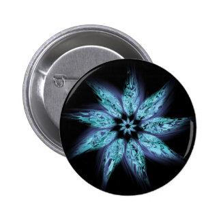 Botón de lujo de la flor pin