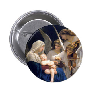 Botón de Madonna y del niño Pins