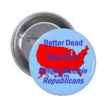 Botón de McCain de la derrota Pins